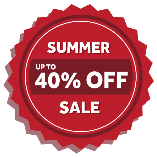 summer sale 40% off