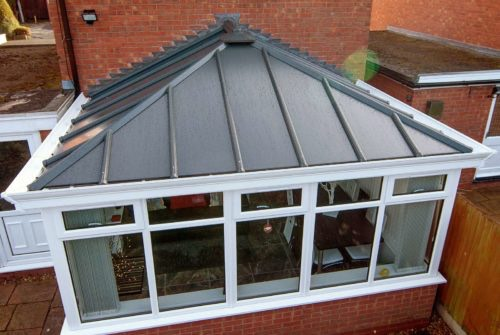 solid roof installation