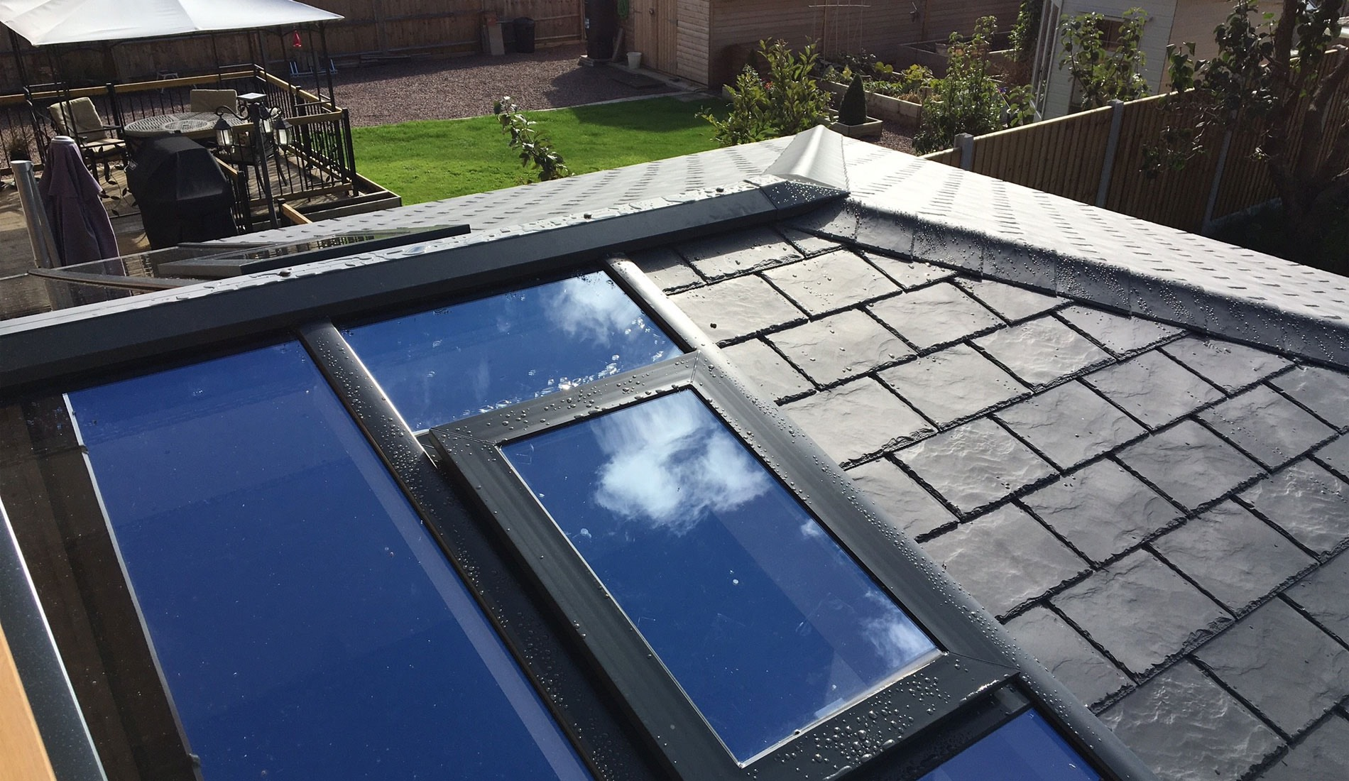 conservatory roof canford cliffs
