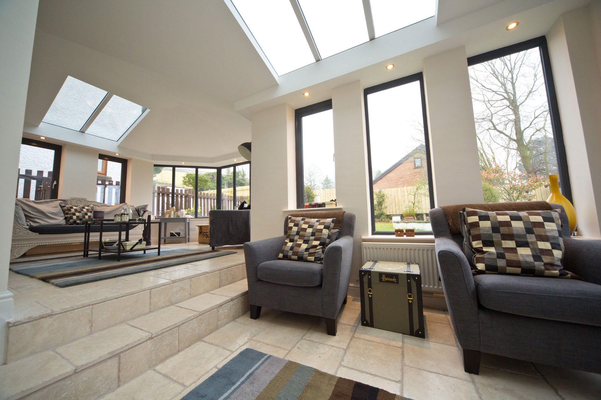 Glass & Solid House Extension
