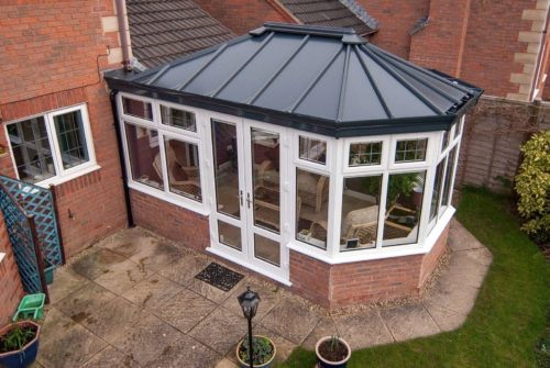 solid roof conservatory poole