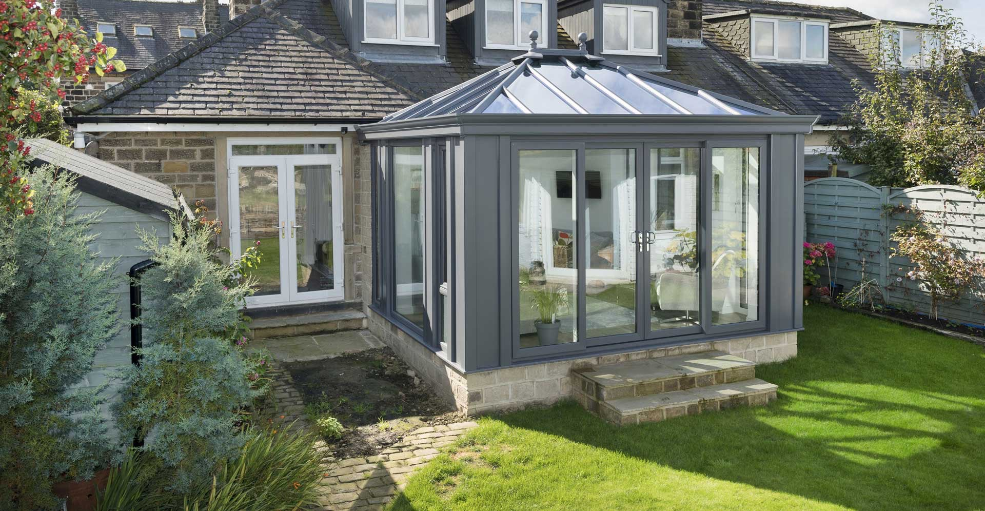 Conservatory Canford Cliffs grey