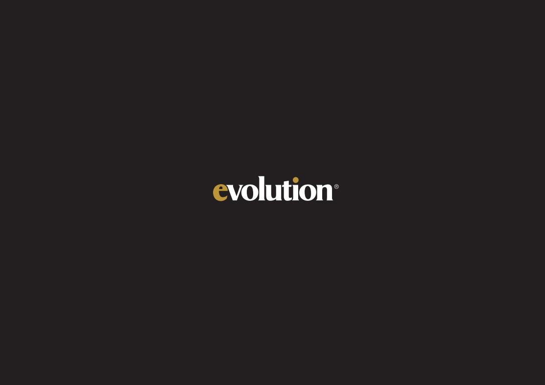 evolution window and door brochure front